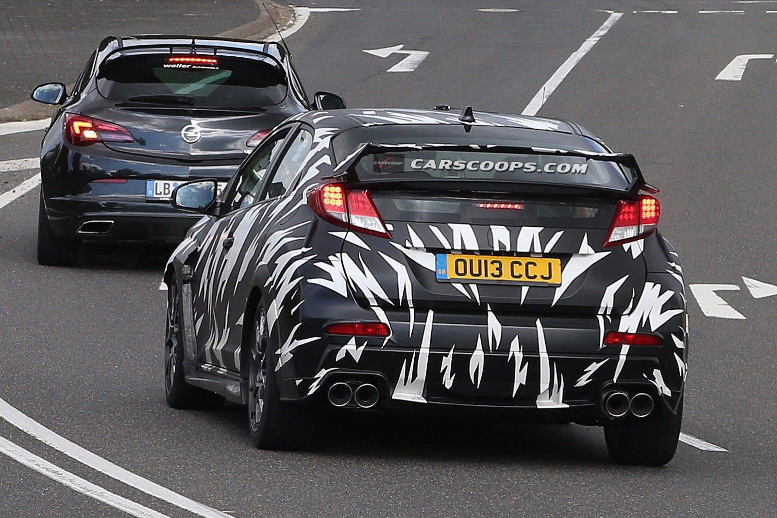 Концепт-кар Honda Civic Type R на автосалоне во Франкфурте 2013