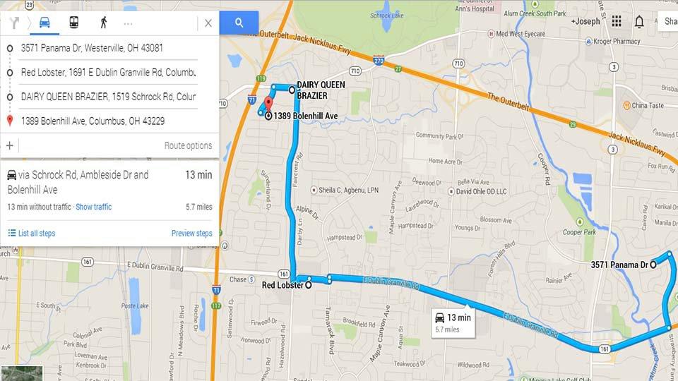 Desyat Sekretov Kart Google Maps