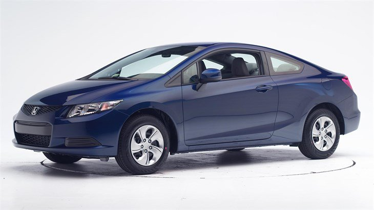 Краш-тест 2015 Honda Civic 2-дверный