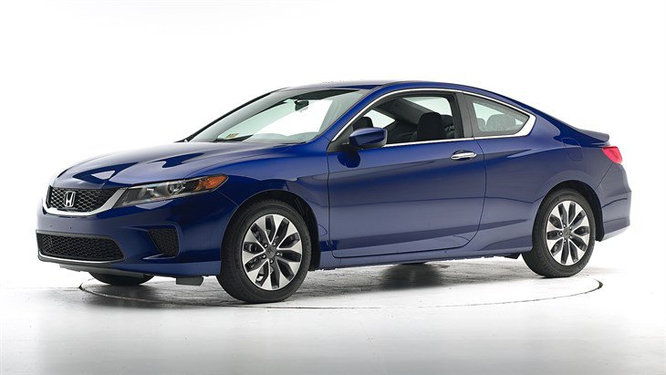 Краш-тест 2015 Honda Accord 2-дверный