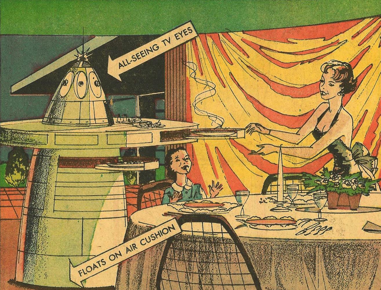 картинка из старого журнала про будущие ждут