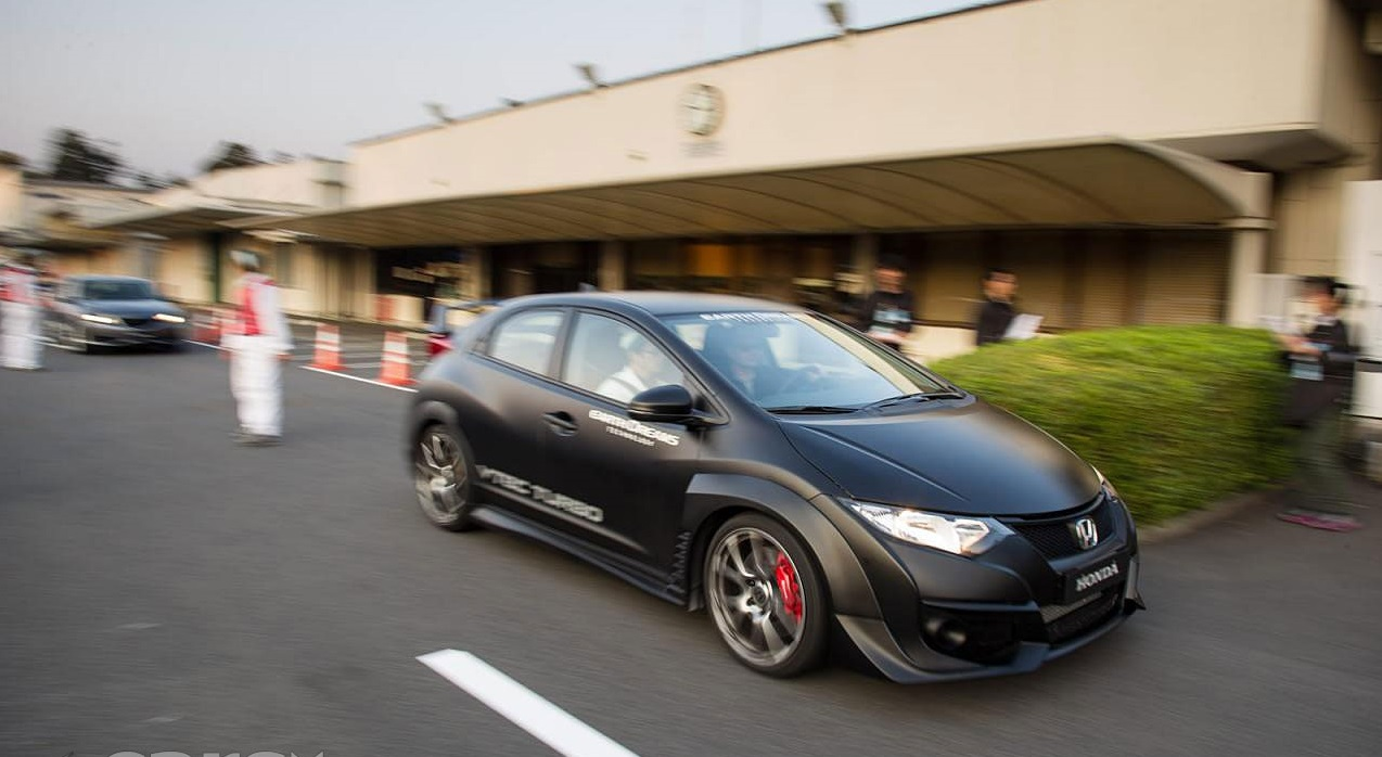 Видео: 2015 Civic Type R на Нюрбургринге, время 7:50.63