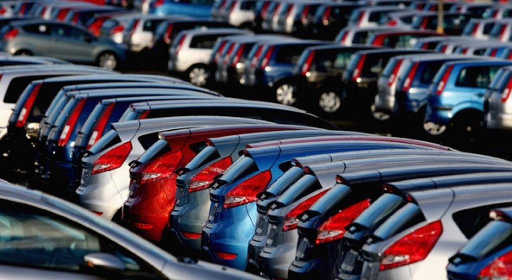 График продаж автомобилей в январе