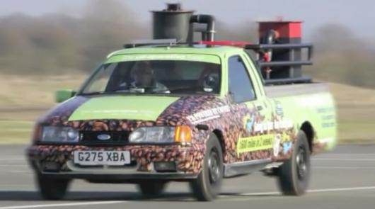 Десять самых странных источников энергии для автомобильных двигателей