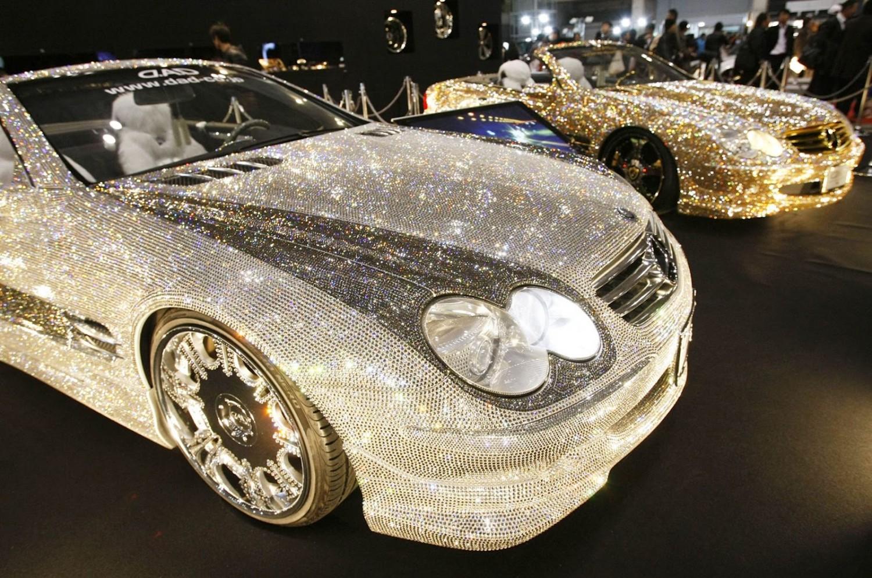 Машины с бриллиантами фото