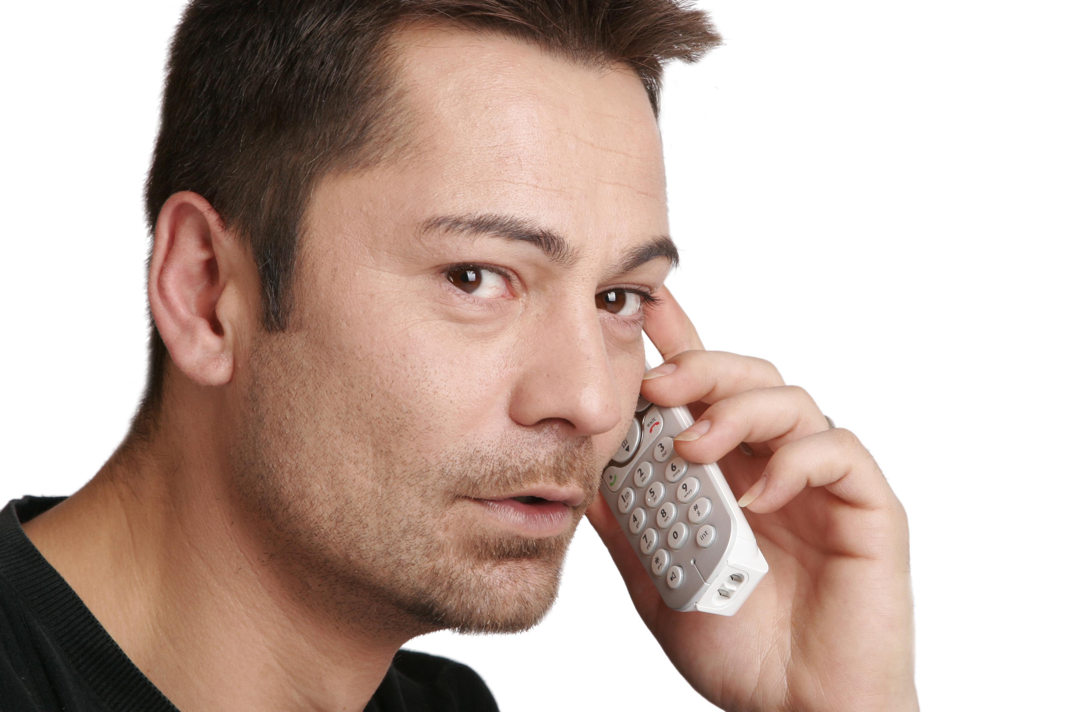 Человек телефон картинка