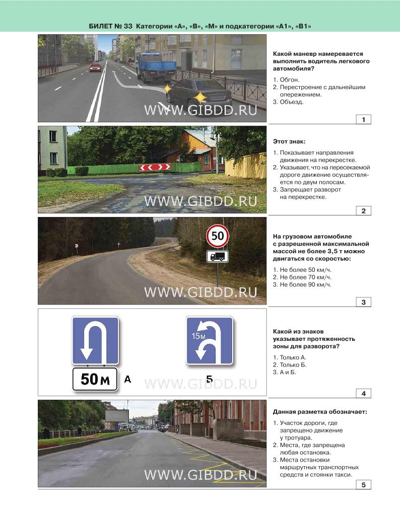 Правила дорожного движения в картинках категория