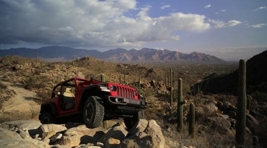 Jeep Wrangler 2018 выпустят в новой модификации