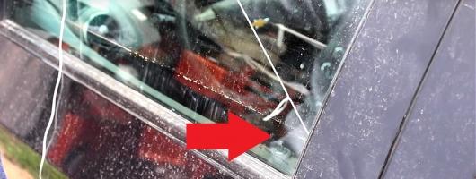 Вот как можно открыть автомобиль за 30 секунд без ключа