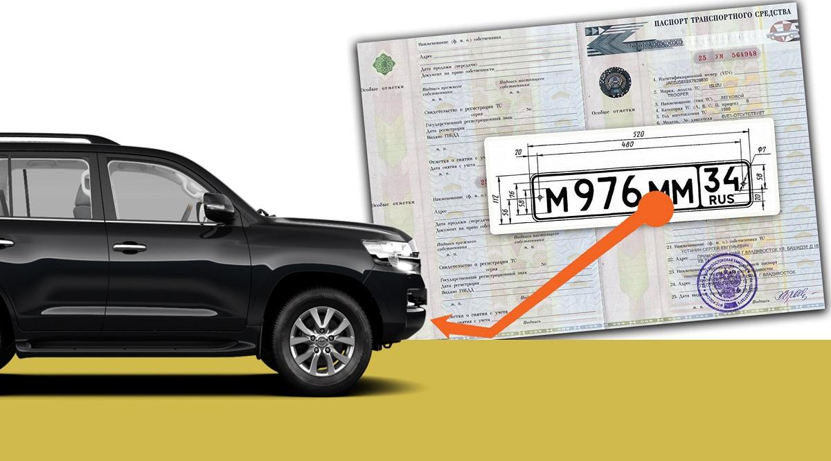 Процесс сохранения номеров авто в гаи