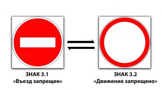 12 дорожных знаков, которые легко перепутать