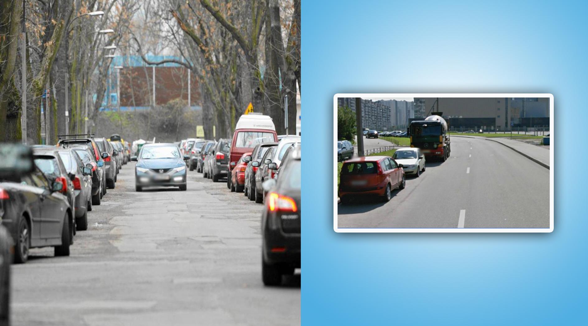 В каких случаях можно парковаться по обеим сторонам дороги?