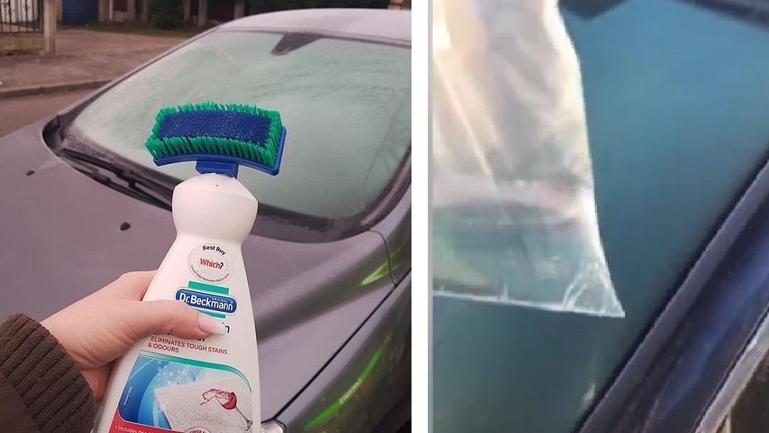 Можно ли использовать антисептик для рук в качестве размораживателя лобового стекла? Да, но помогает не всегда