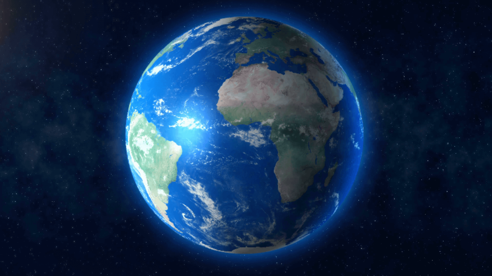 будем картинка планета земля на фоне космоса глубина