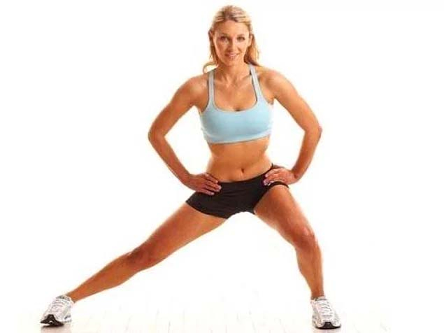 10 простых упражнений для поддержания хорошей формы ног: тренировка 20 минут