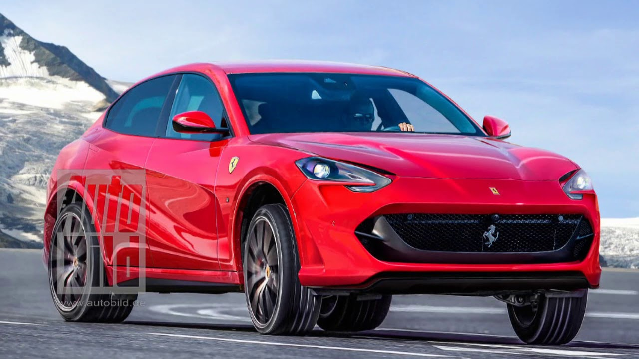 Кроссовер Ferrari Purosangue 2022 года: все, что известно о новой модели на данный момент
