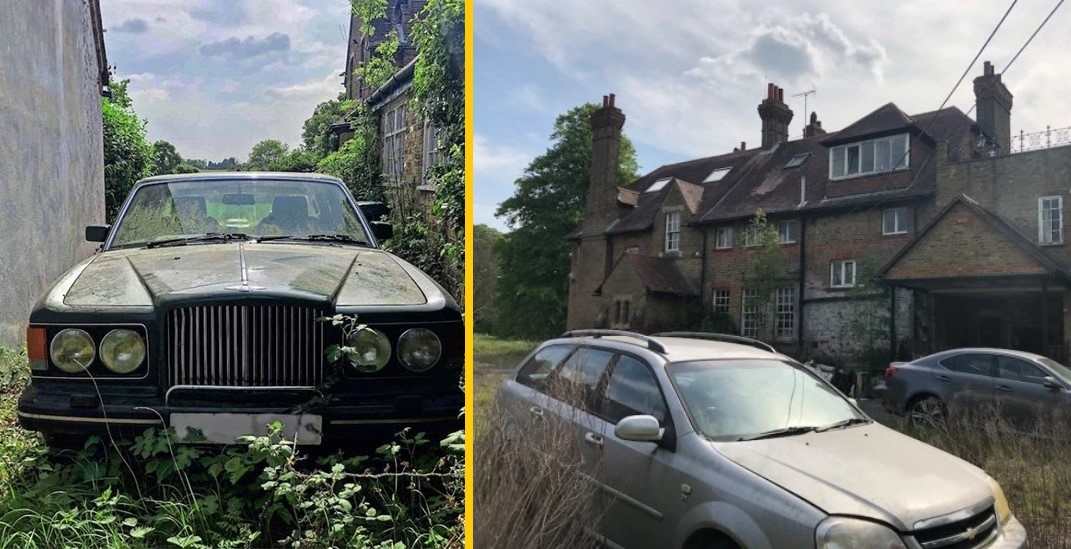 В Британии нашли особняк, обитатели которого исчезли, оставив за собой много дорогих, роскошных и редких вещей