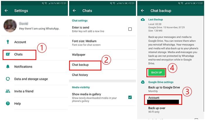 Как перенести сообщения WhatsApp на другой телефон