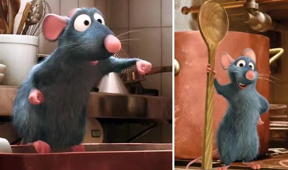 21 любопытная деталь из мультфильма «Рататуй», которую мы проглядели