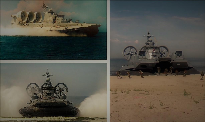 Американцы восхитились российским десантным кораблем «Зубр» на воздушной подушке
