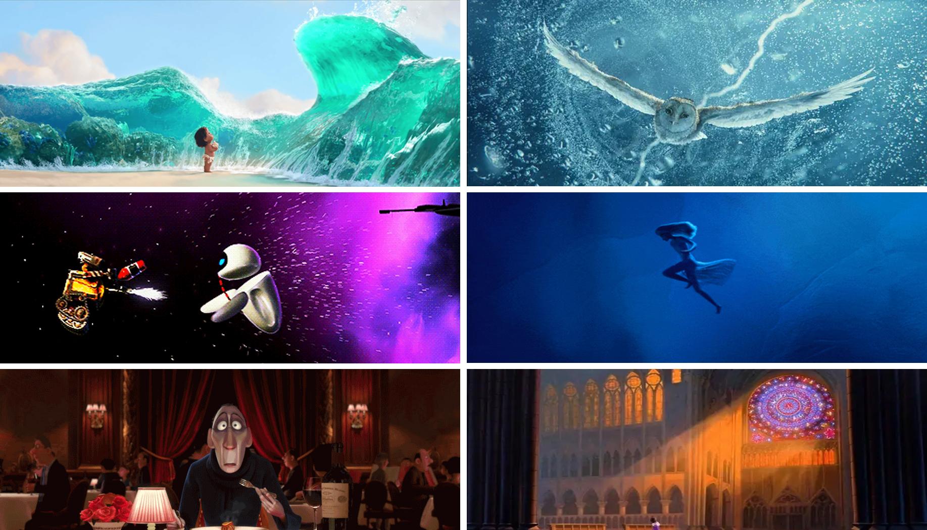 30 красивых и впечатляющих эпизодов в анимационных фильмах (по мнению пользователей Сети)
