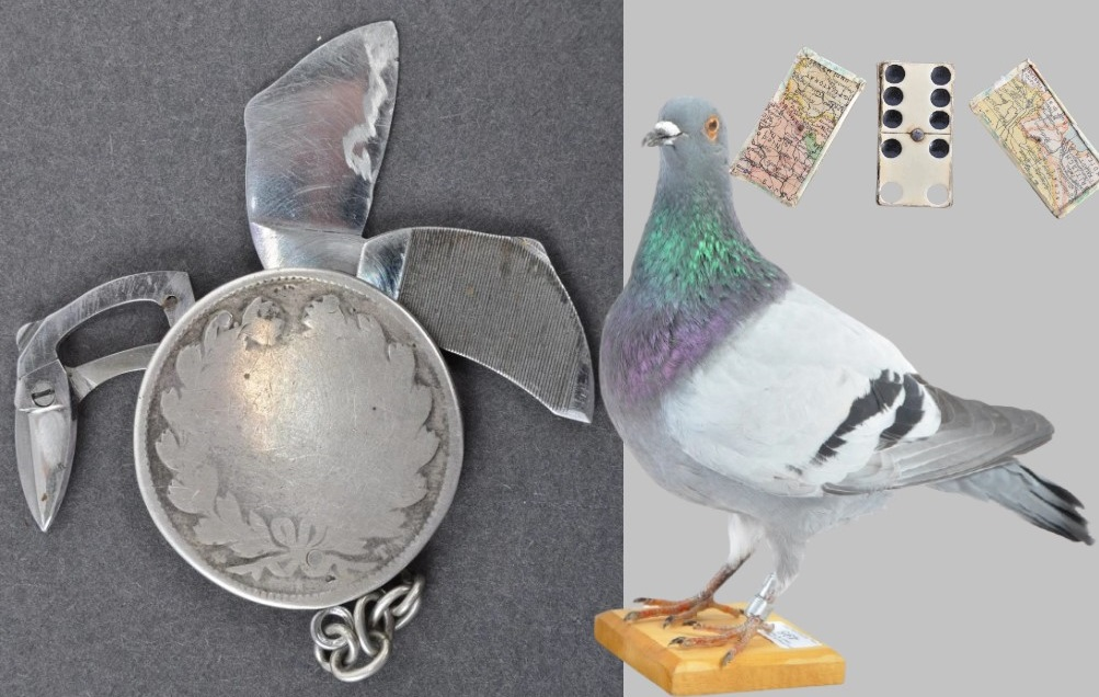 «Шпионские штучки»: в Великобритании на аукцион выставлены гаджеты разведки времен Второй мировой войны
