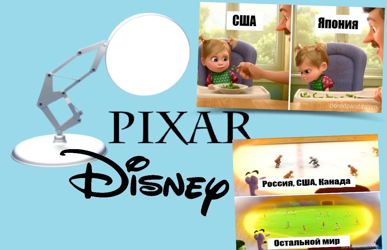 16 примеров, как Pixar и Disney адаптируют известные мультфильмы под разные страны