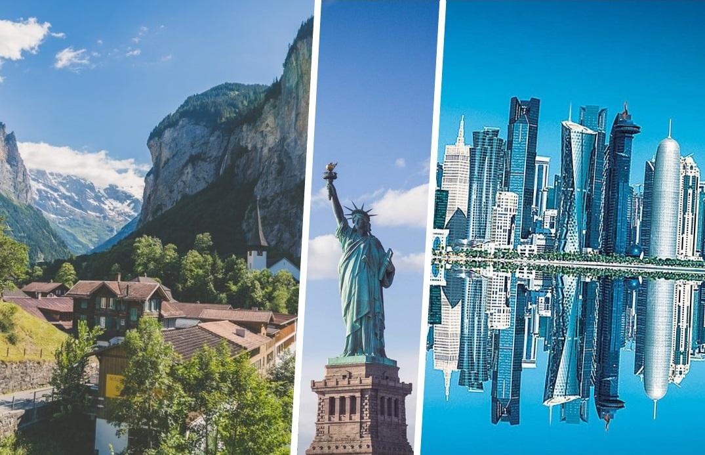 10 стран с самым высоким уровнем жизни в 2020 году, по данным Международного валютного фонда