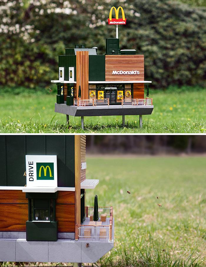 35 самых интересных дизайнов ресторанов McDonald's по всему миру (по мнению пользователей Сети)