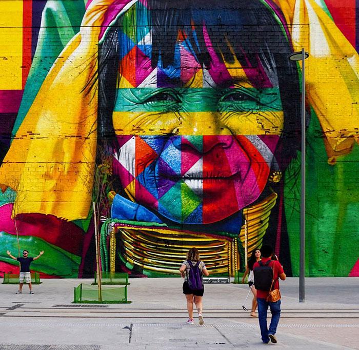 Красивости на стенах в наших городах